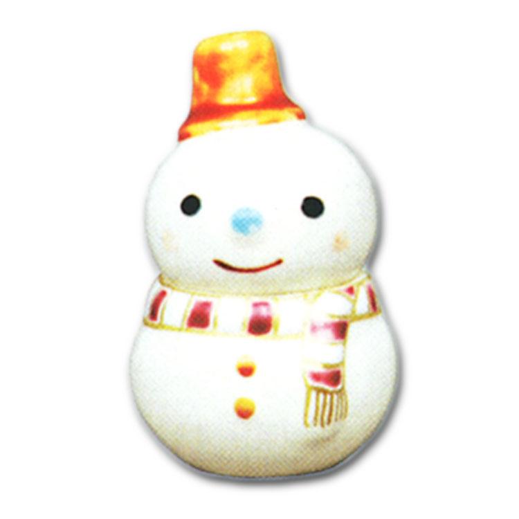 茶道具 香合 雪だるま 山川敦司
