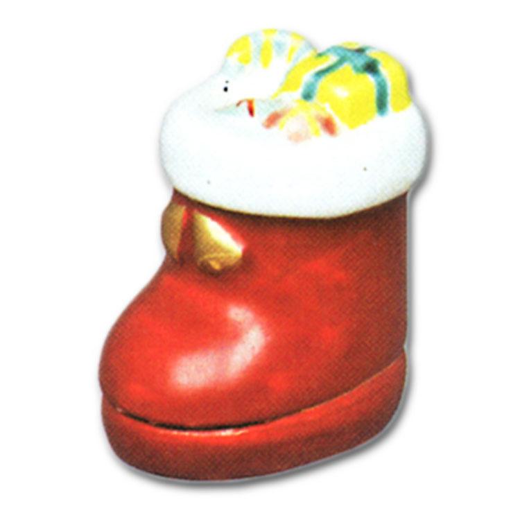 茶道具 茶道道具 お茶道具 通販 山川敦司 ブランド品 完全送料無料 香合 サンタのブーツ
