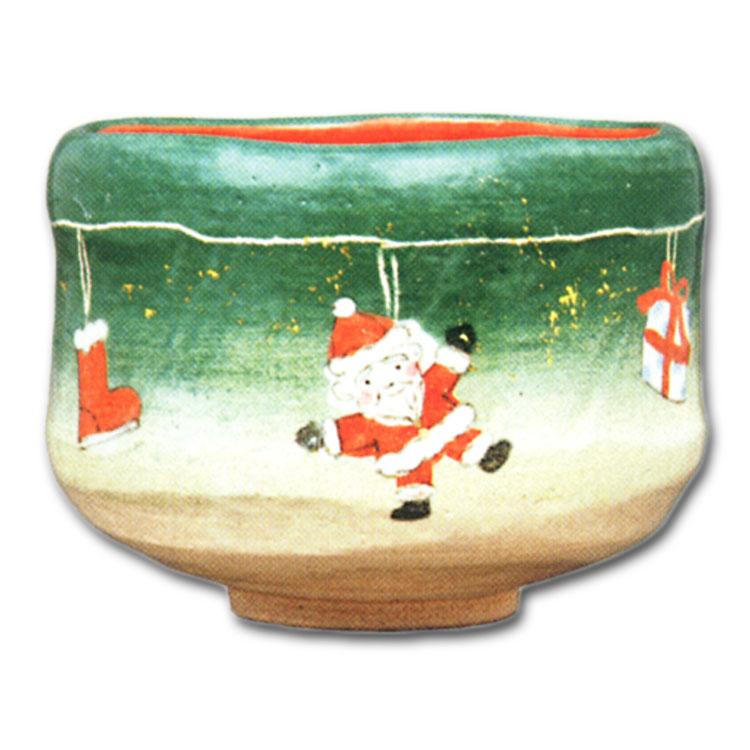 茶道具 送料無料 抹茶茶碗 茶碗 クリスマス飾り 楽入窯茶道 抹茶椀 抹茶 茶器 茶椀 茶わん ちゃわん ギフト 千紀園
