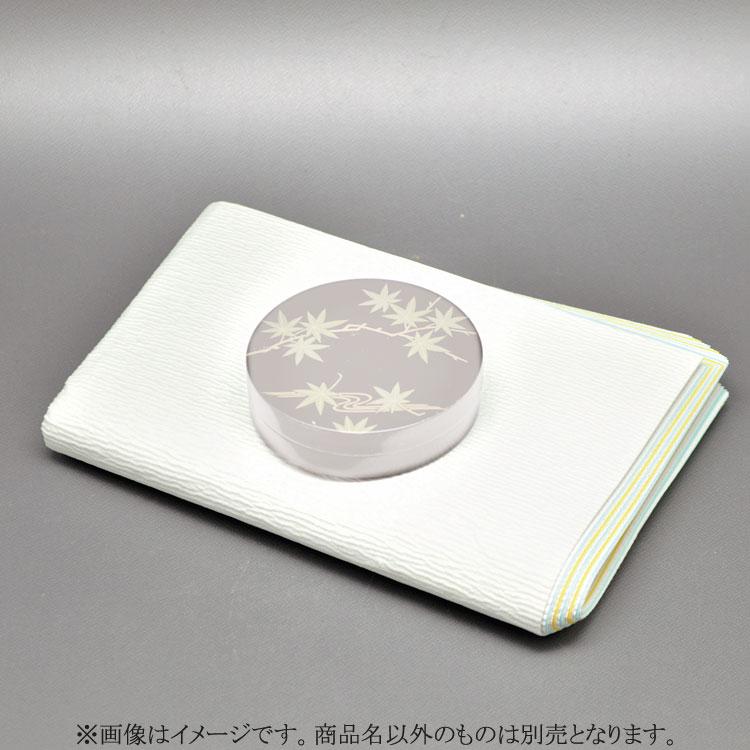 茶道具 紙釜敷(かみかましき) 紙釜敷 檀紙 水色 山崎吉左衛門