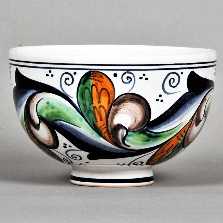 茶道具 抹茶茶碗(まっちゃちゃわん) 茶碗 巻き上げ葉 ミルダモリジ