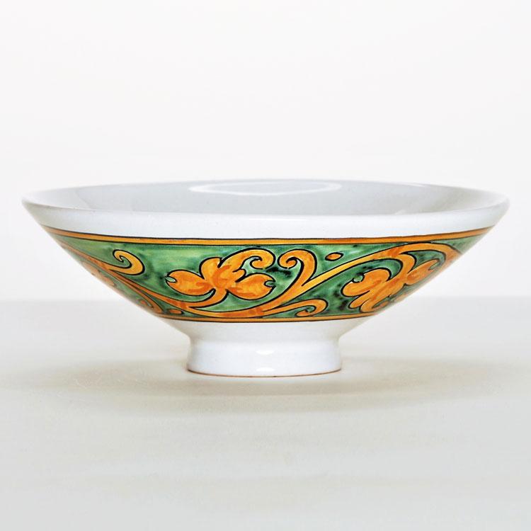 茶道具 平茶碗(ひらちゃわん) 平茶碗 うろこ模様 ミルダモリジ