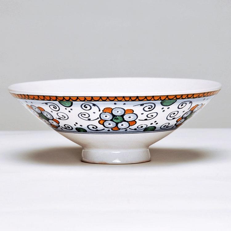 茶道具 平茶碗(ひらちゃわん) 平茶碗 ペルシャの棕櫚 ミルダモリジ