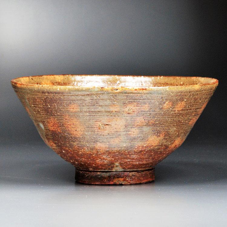 茶道具 抹茶茶碗(まっちゃちゃわん) 茶碗 釘彫伊羅保写 丸子窯