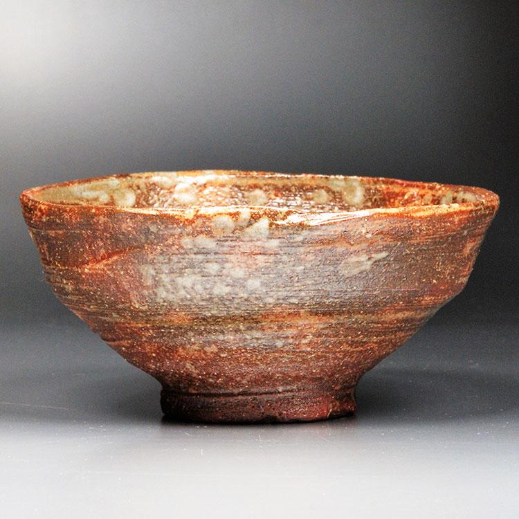 茶道具 抹茶茶碗(まっちゃちゃわん) 茶碗 柿の蔕写 丸子窯