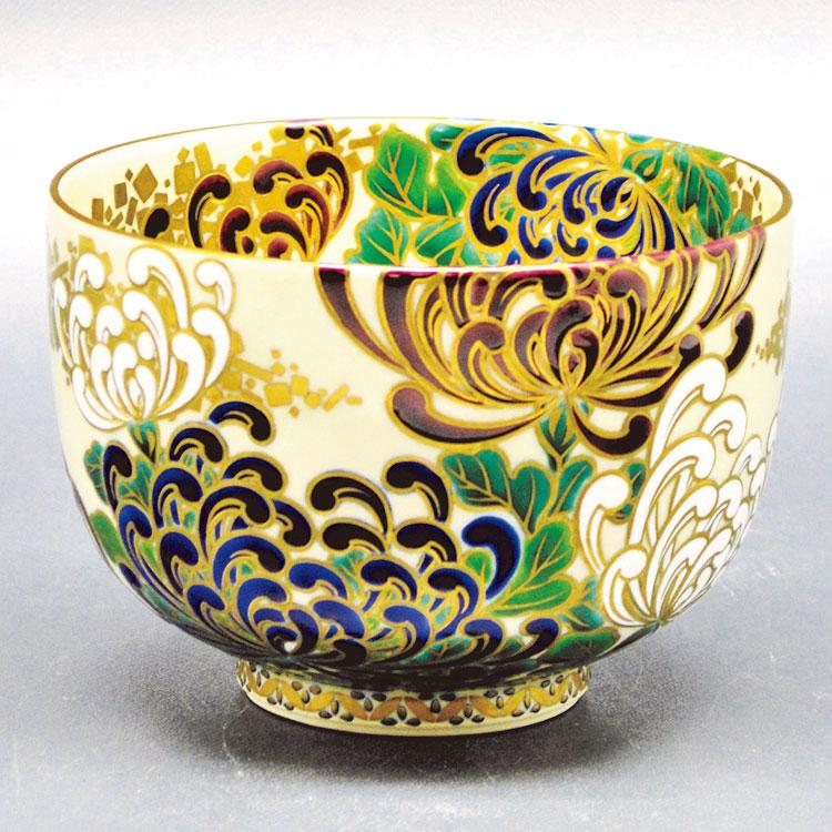 茶道具 抹茶茶碗(まっちゃちゃわん) 茶碗 仁清 菊盛 清閑寺窯