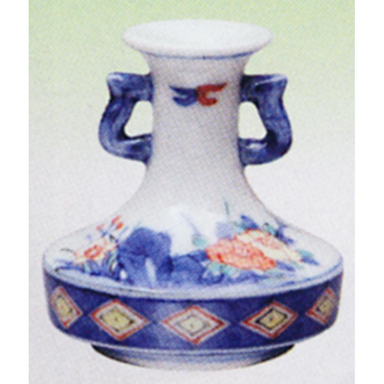 茶道具 箸立 色絵 花紋 高野昭阿弥 (茶道具 通販 )
