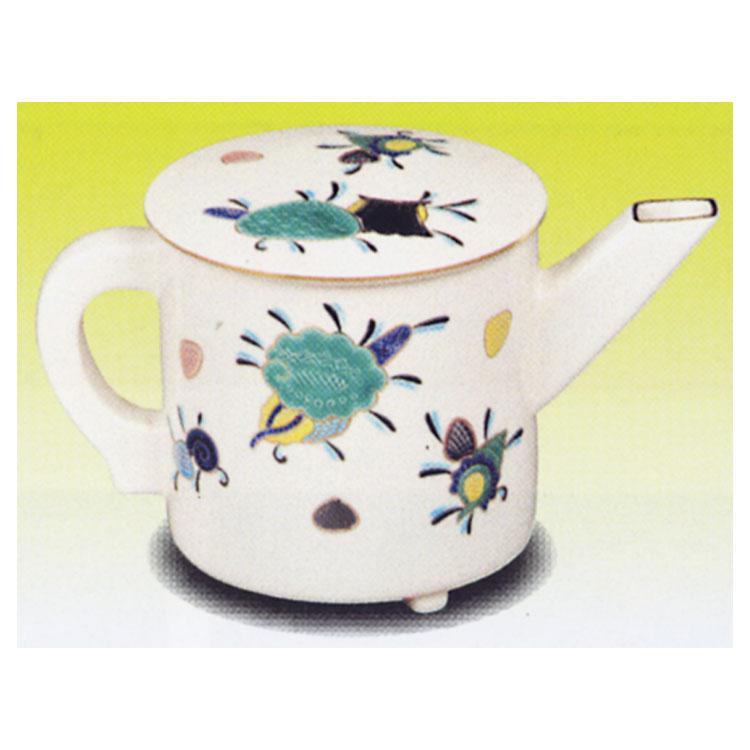 茶道具 水注 海松貝 御室窯