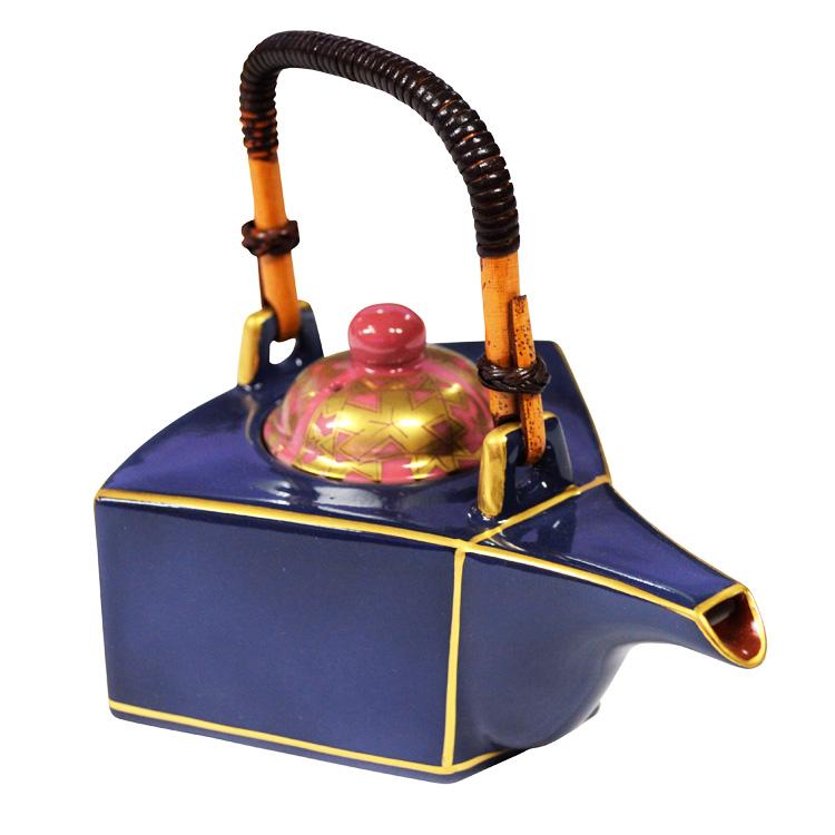 茶道具 銚子 扇型 蔵珍窯