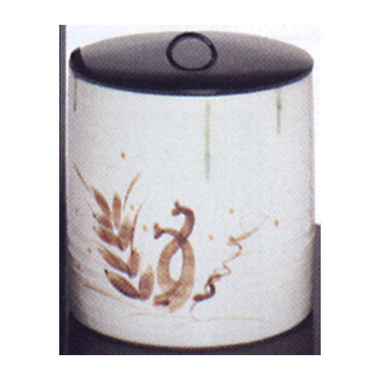 茶道具 水指 弥七田織部 一重口●商品名以外のものは別売です。 壱陶