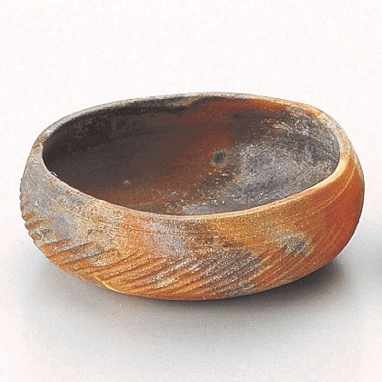 茶道具 灰器灰器 焼〆 佐々木昭楽