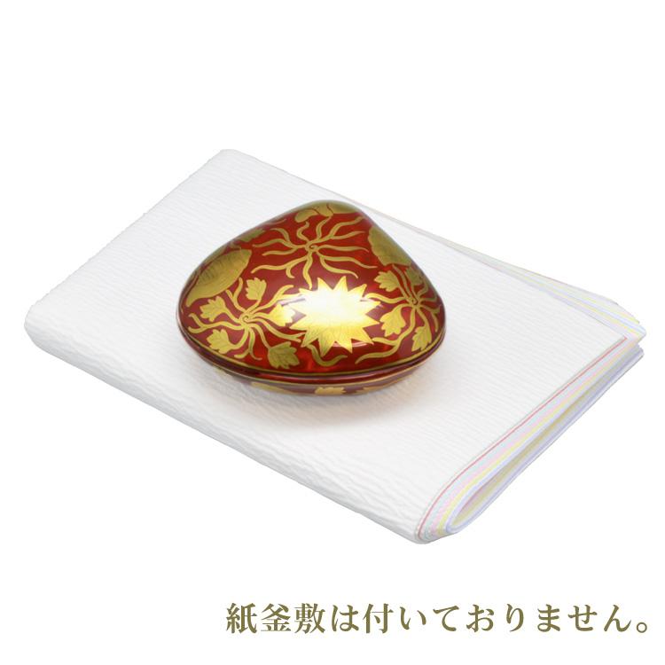 茶道具 大蛤香合 金襴手 高野昭阿弥