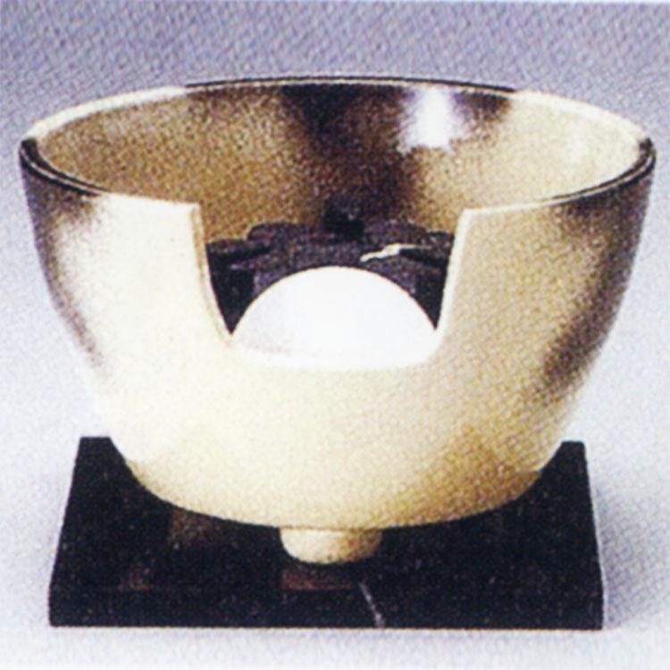 茶道具 風炉(ふろ) ヤマキ製電熱式紅鉢 雲華 100V/200W/500W