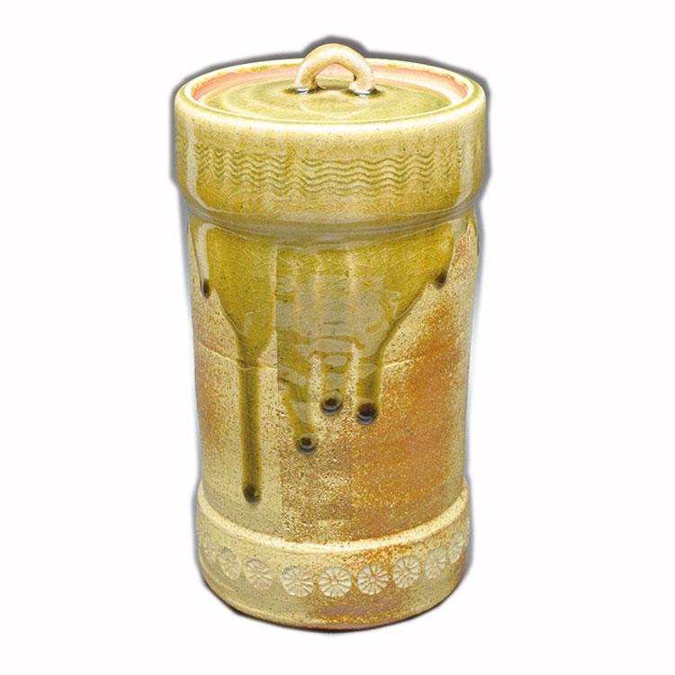 茶道具 水指(水差・みずさし) 細水指 信楽 西尾 香舟 作