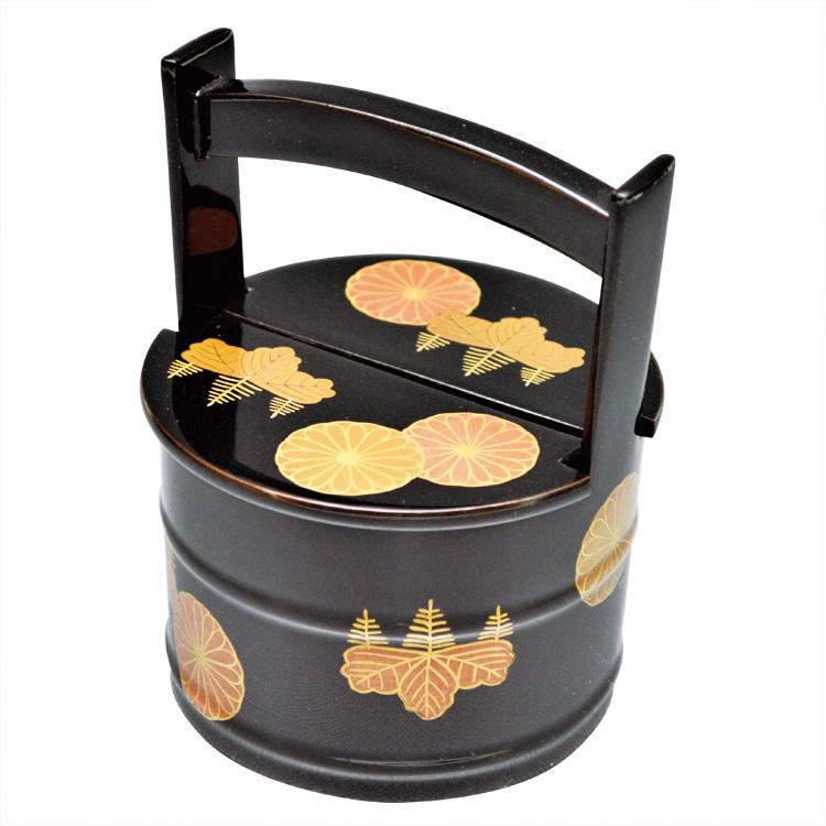 茶道具 茶器(ちゃき) 手桶茶器 高台寺絵巻 角出 俊平