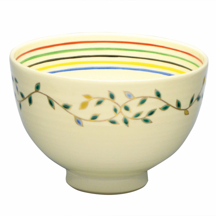 茶道具 抹茶茶碗(まっちゃちゃわん) 茶碗 月桂樹 内五線 巌窯