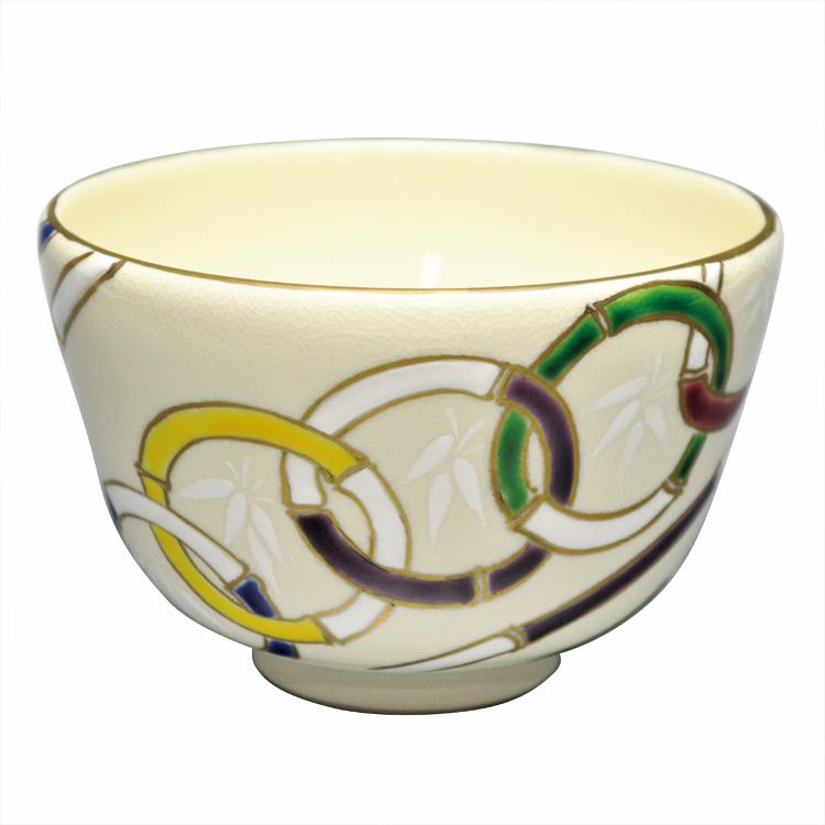 茶道具 抹茶茶碗(まっちゃちゃわん) 茶碗 仁清 五竹輪 山岡 善高