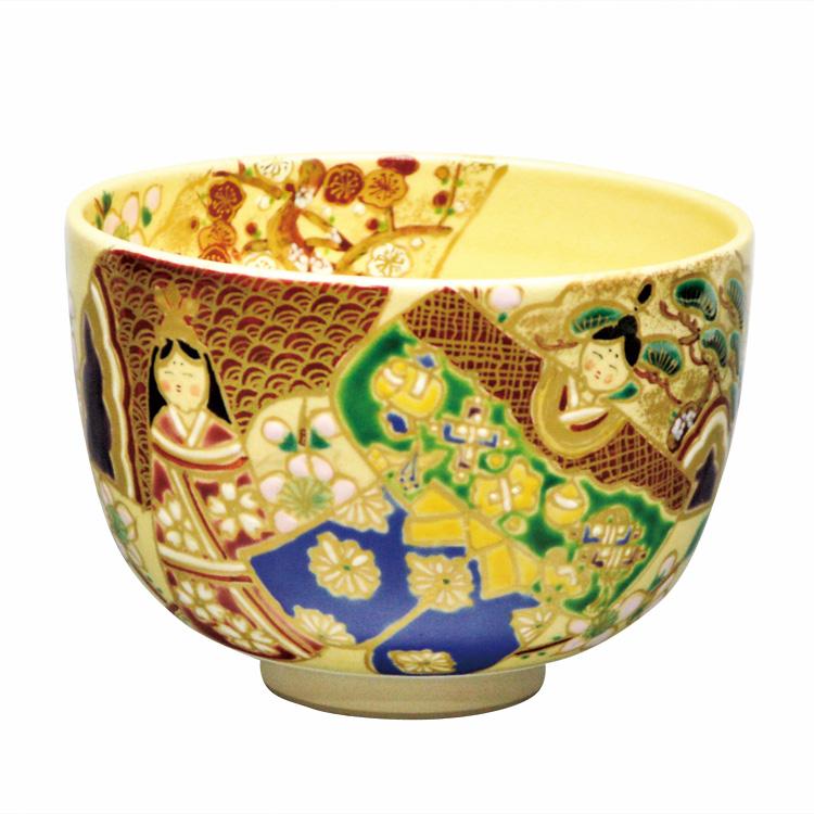 茶道具 抹茶茶碗(まっちゃちゃわん) 茶碗 仁清 雛人形 水出 宋絢