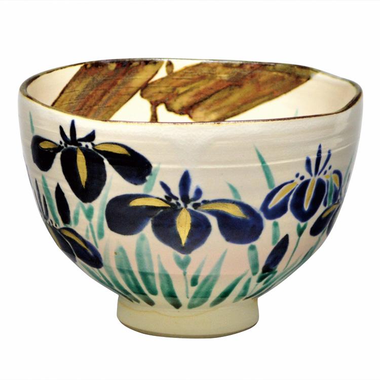 茶道具 抹茶茶碗(まっちゃちゃわん) 茶碗 半七写 八ッ橋 山川 敦司