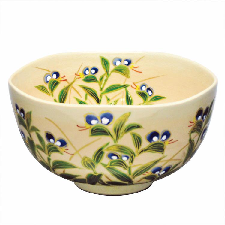 茶道具 抹茶茶碗(まっちゃちゃわん) 茶碗 御本 露草 壱休窯