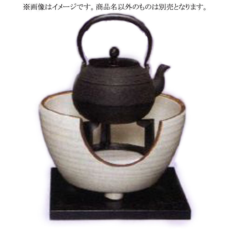 茶道具 鉄瓶 達磨唐草