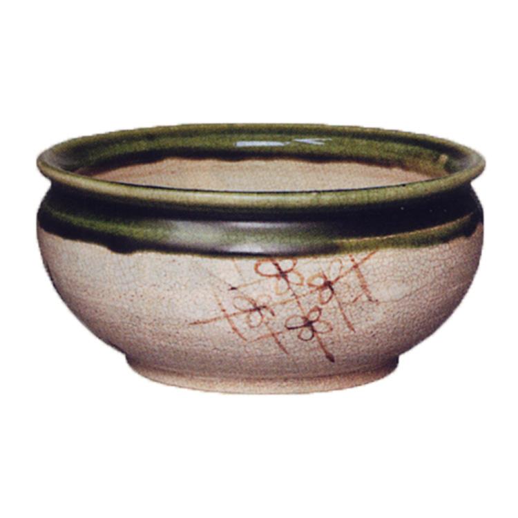 茶道具 建水 織部 松本鉄山 (茶道具 通販 )
