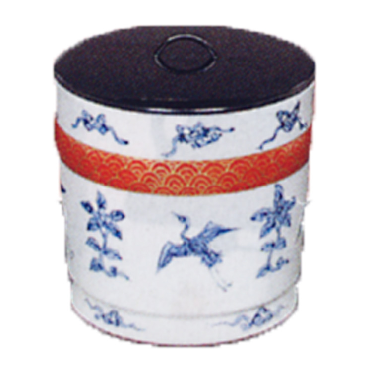 茶道具 水指 金彩 青海波 鶴 巌田雙楽 (茶道具 通販 )