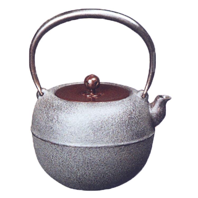 茶道具 鉄瓶 鉄鉢 菊地政光 (茶道具 通販 )