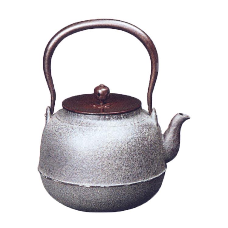 茶道具 鉄瓶 真形 菊地政光 (茶道具 通販 )
