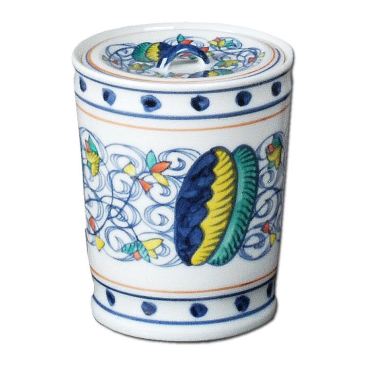 茶道具 水指 色絵 オランダ 御室窯