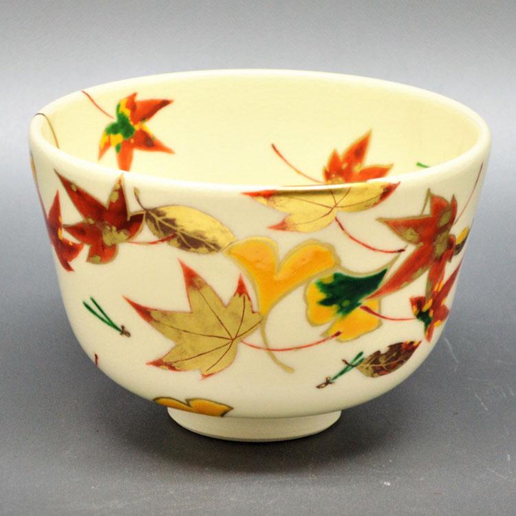 茶道具 抹茶茶碗(まっちゃちゃわん) 茶碗 仁清 吹寄 山本 蓼