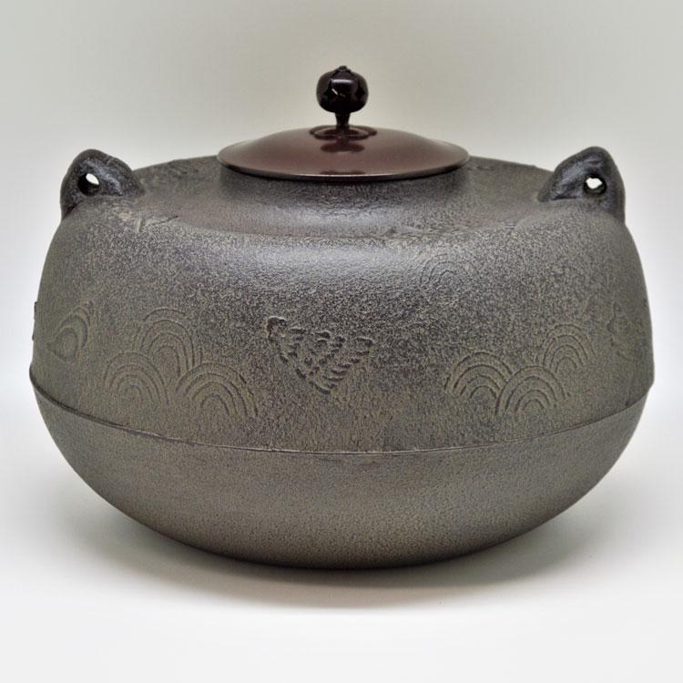 茶道具 炉釜(ろがま) 炉釜 塩屋 菊地 政光