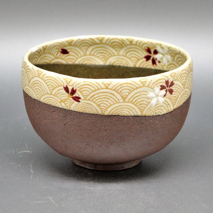 茶道具 抹茶茶碗(まっちゃちゃわん) 茶碗 焼〆 桜川 通次 阿山