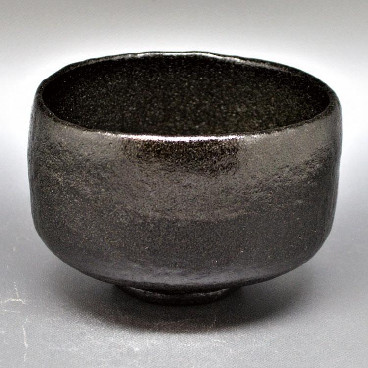茶道具 抹茶茶碗(まっちゃちゃわん) 茶碗 長次郎写 北野黒 佐々木 松楽