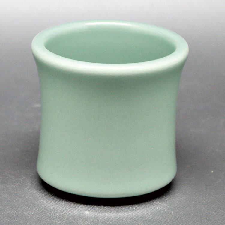 茶道具 蓋置(ふたおき) 蓋置 青磁 加藤 利昇