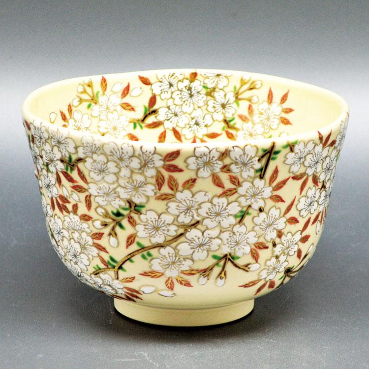 茶道具 抹茶茶碗(まっちゃちゃわん) 茶碗 仁清 桜 加藤 如水