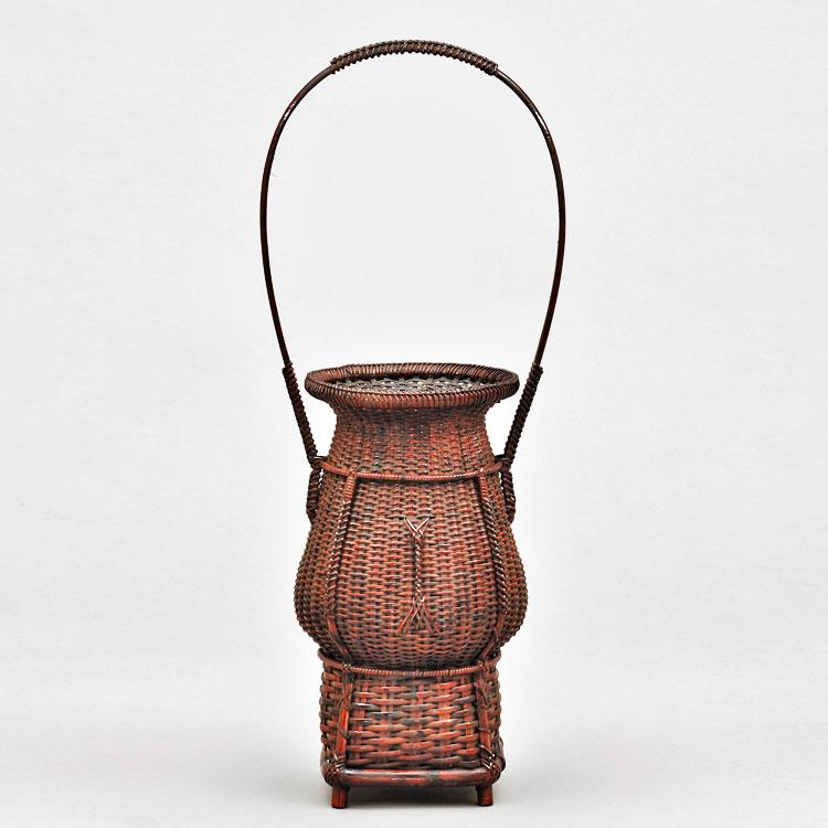 茶道具 花籠(はなかご) 唐物手付籠 船橋 重朗