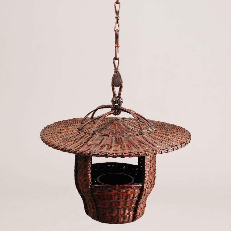 茶道具 花籠(はなかご) 灯ろう籠 船橋 重朗