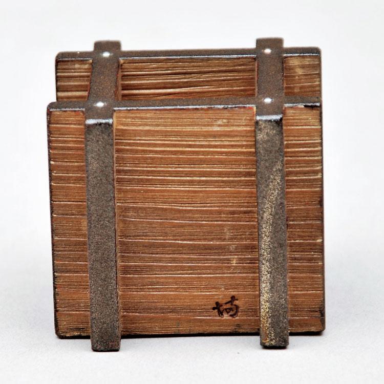 茶道具 蓋置(ふたおき) 井筒形蓋置 上杉 満樹