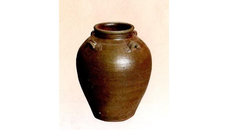 茶道具 タイ製・南蛮大壷
