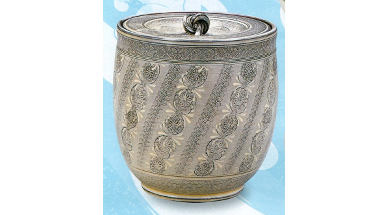 茶道具 紫三島水指