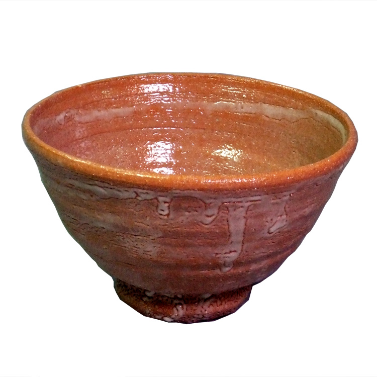 茶道具 抹茶茶碗(まっちゃちゃわん) 唐津井戸型茶碗 徳澤守俊
