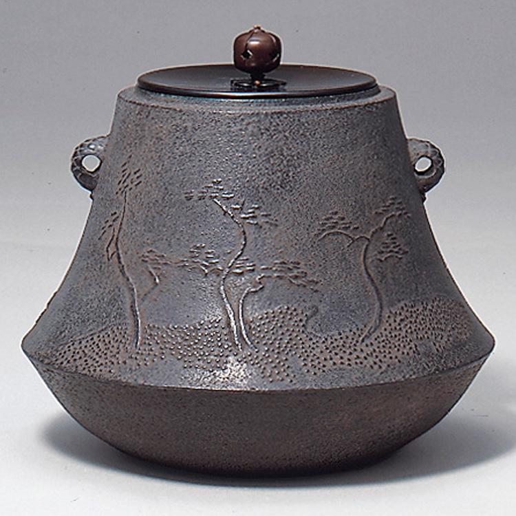 茶道具 富士釜 浜松地文 佐藤清光 (茶道具 通販 )
