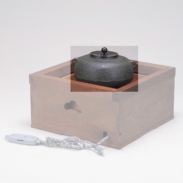茶道具 置炉釜 平丸 地龍工房 置炉釜 (茶道具 通販 )