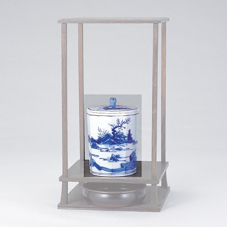 茶道具 染付山水十二角水指●商品名以外のものは別売です。 西尾瑞豊 (茶道具 通販 )