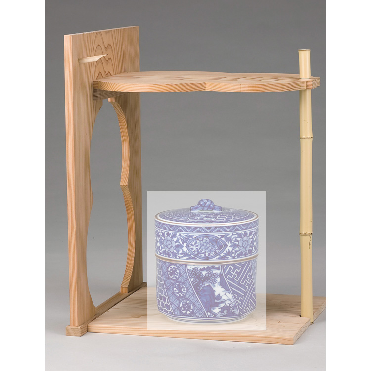 茶道具 瓢棚 淡々斎好●商品名以外のものは別売です。 (茶道具 通販 )