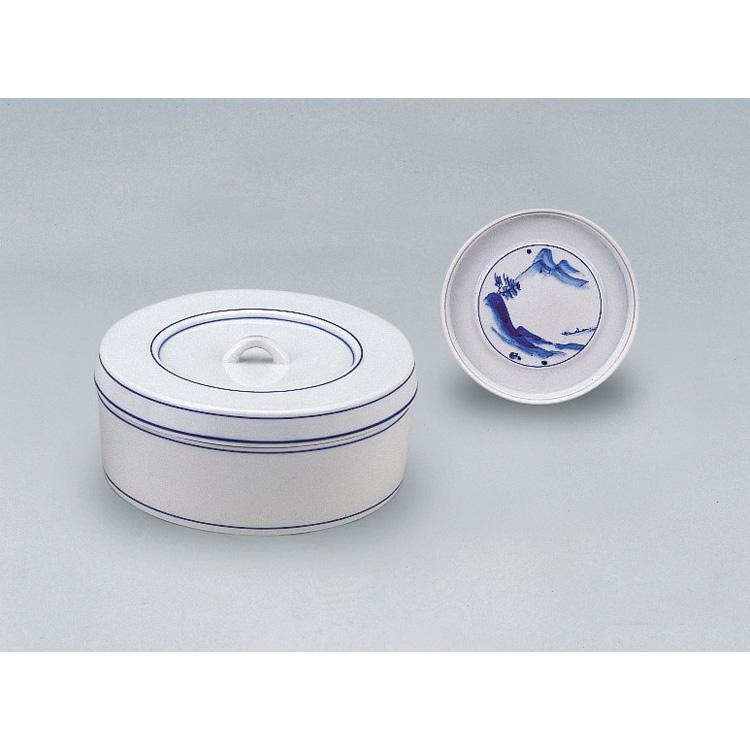 茶道具 染付山水食籠 西尾瑞豊 (茶道具 通販 )
