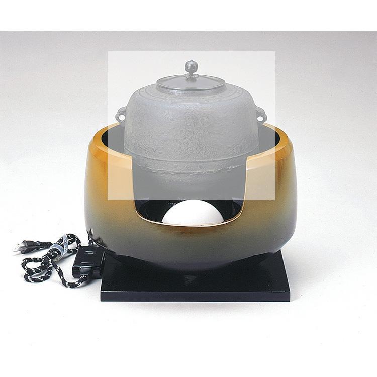 茶道具 特殊合金製 面取風炉●商品名以外のものは別売です。 (茶道具 通販 )