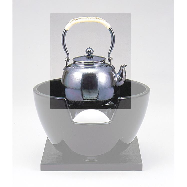 茶道具 銀瓶 (五合入)イブシ仕上げ●商品名以外のものは別売です。 (茶道具 通販 )
