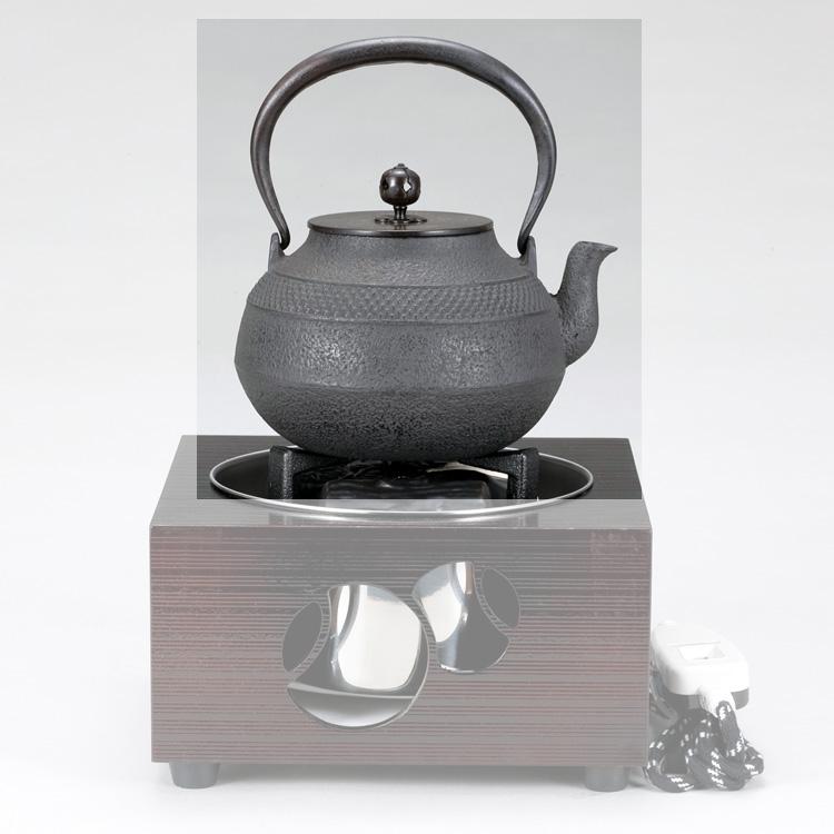 茶道具 鉄瓶 帯あられ (六合入) 地龍工房●商品名以外のものは別売です。 (茶道具 通販 )